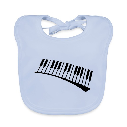 Piano - Babero ecológico bebé