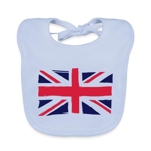 vlag engeland - Bio-slabbetje voor baby's
