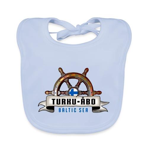 Turku Finland - Merelliset tekstiilit ja lahjat. - Vauvan ruokalappu