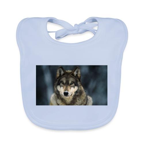 wolf shirt kids - Bio-slabbetje voor baby's