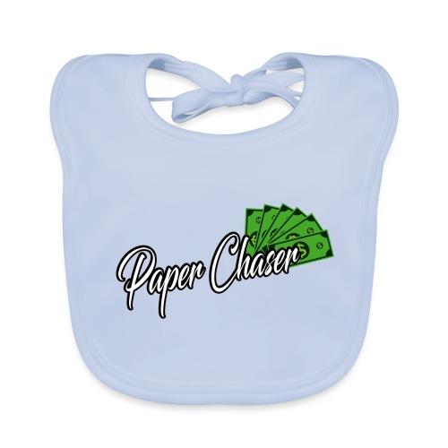 PAPER CHASER TSHIRT - Bio-slabbetje voor baby's