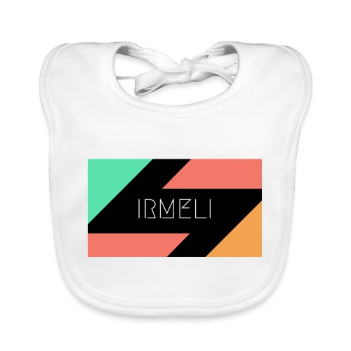 Irmelis Logo glothes - Vauvan luomuruokalappu