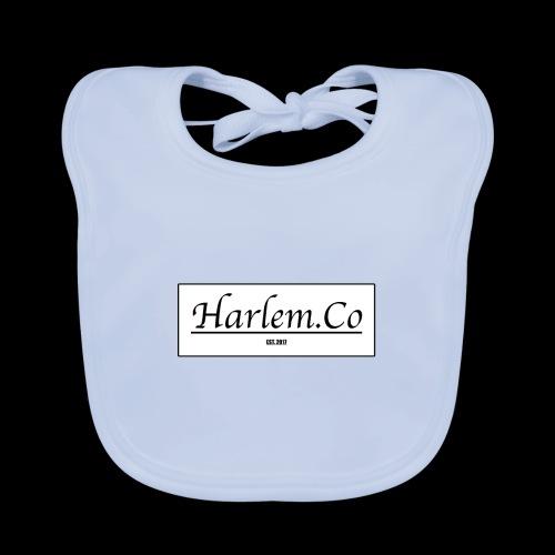 Harlem Co logo White and Black - Organic Baby Bibs