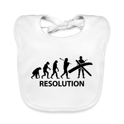 Resolution Evolution Army - Baby Organic Bib