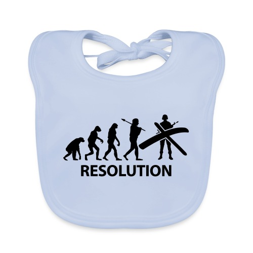 Resolution Evolution Army - Baby Organic Bib