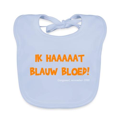 ik haat blauw bloed - Bio-slabbetje voor baby's