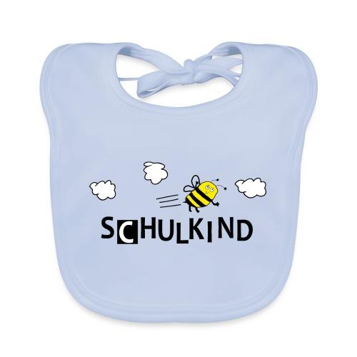 Schulkind Biene - Baby Bio-Lätzchen