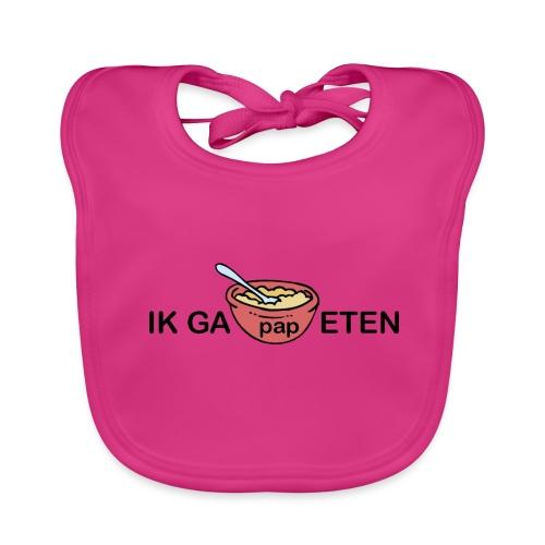 IK GA PAP ETEN - Bio-slabbetje voor baby's