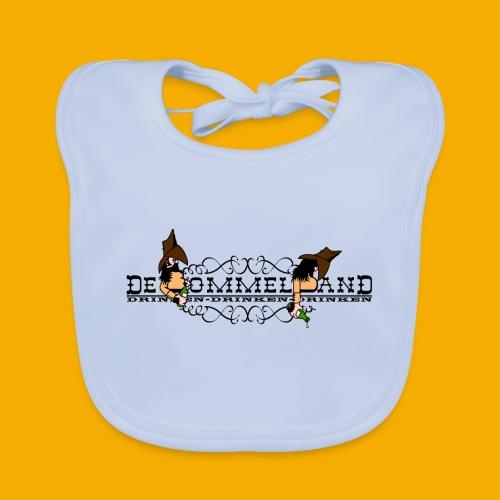 tshirt logo vintage - Bio-slabbetje voor baby's