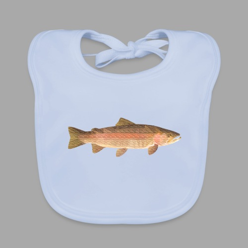 low-polygon-trout art.png - Vauvan ruokalappu