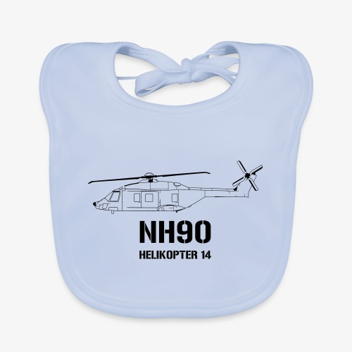 Helikopter 14 - NH 90 - Ekologisk babyhaklapp