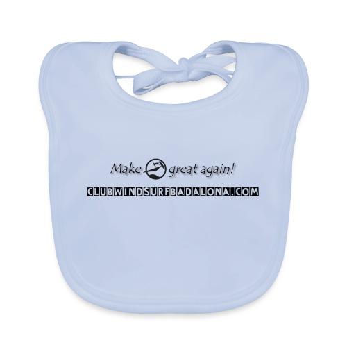 great - Babero de algodón orgánico para bebés