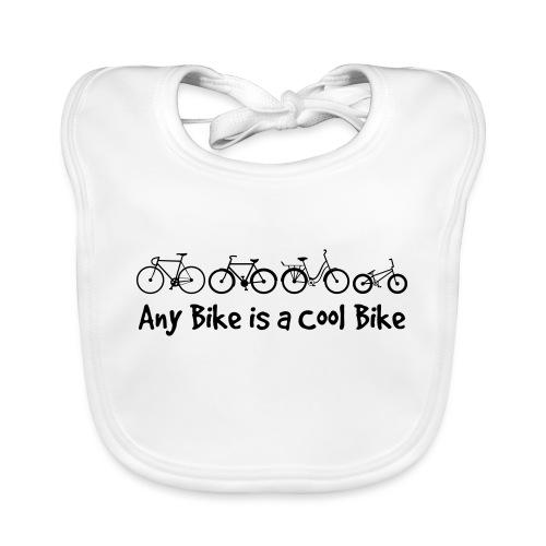 Any Bike is a Cool Bike Kids - Baby Organic Bib