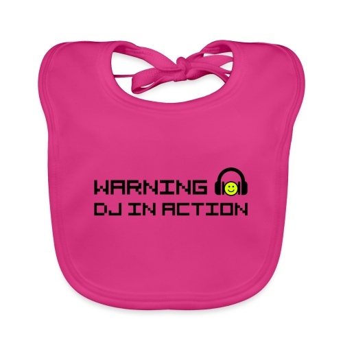 Warning DJ in Action - Bio-slabbetje voor baby's