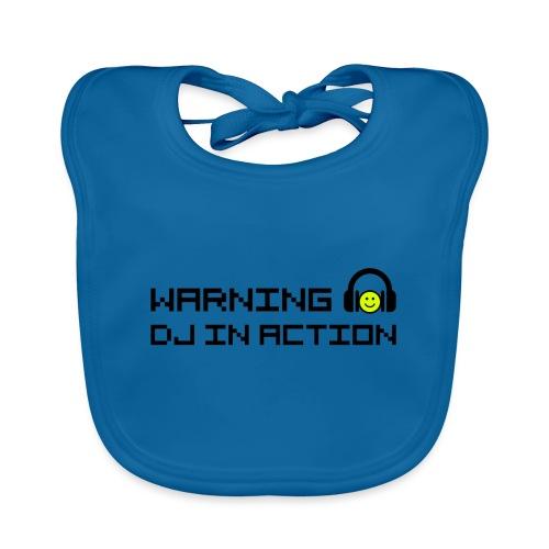 Warning DJ in Action - Bio-slabbetje voor baby's