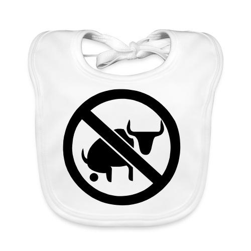 bullshit - Ekologisk babyhaklapp