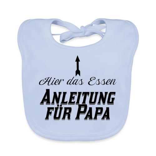 Hier das Essen Anleitung für Papa Baby Geschenk - Baby Bio-Lätzchen