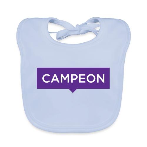 KlassiskCampeon - Ekologisk babyhaklapp