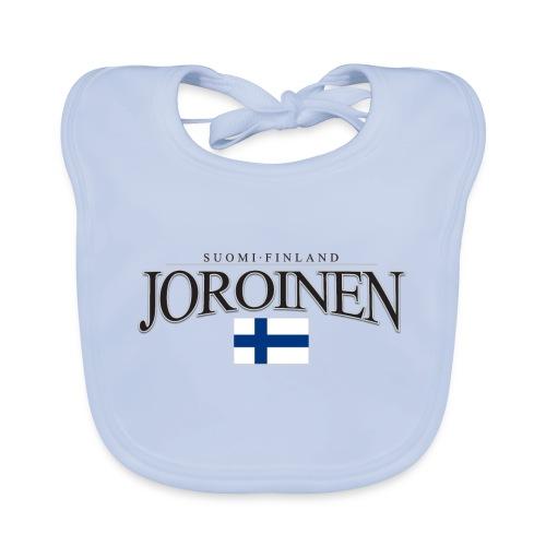 Suomipaita - Joroinen Suomi Finland - Vauvan luomuruokalappu