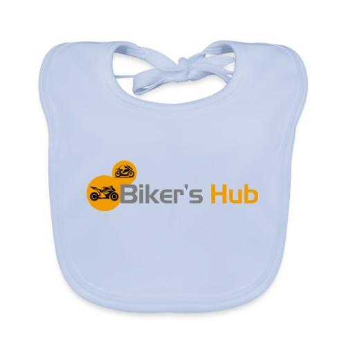 Biker's Hub Logo - Organic Baby Bibs