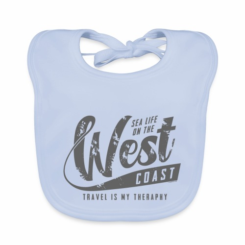 West Coast Sea surf clothes and gifts GP1306B - Vauvan ruokalappu