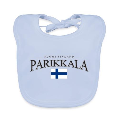 Suomipaita - Parikkala Suomi Finland - Vauvan luomuruokalappu