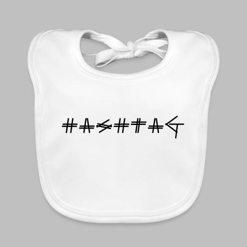 Hashtag - Baby Organic Bib