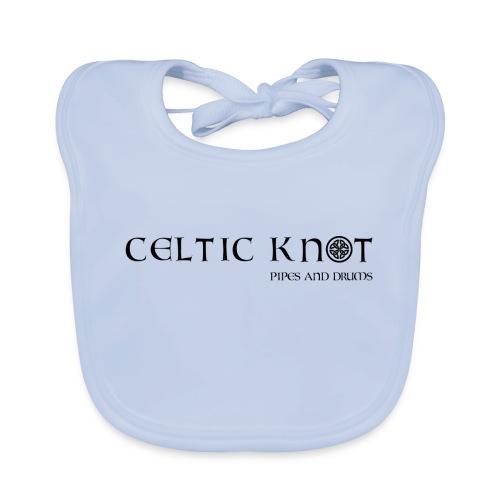 Celtic knot - Bavaglino ecologico per neonato