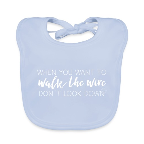 Walk the wire - Barn - Baby Organic Bib