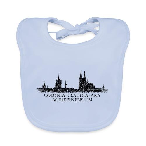 Colonia Claudia Ara Agrippinensium Köln Skyline - Baby Bio-Lätzchen