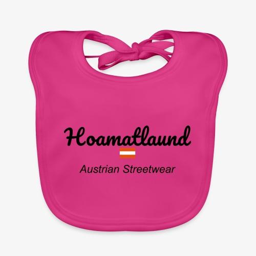 hoamatlaund austrain Streetwear - Baby Bio-Lätzchen