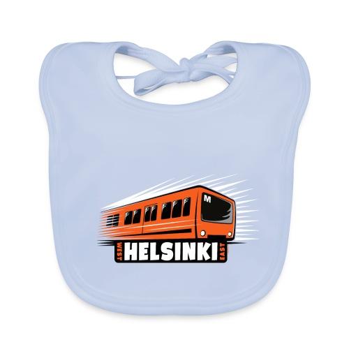 Helsinki Metro T-Shirts, Hoodies, Clothes, Gifts - Vauvan luomuruokalappu