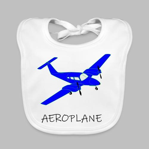 Aeroplane - Baby Organic Bib