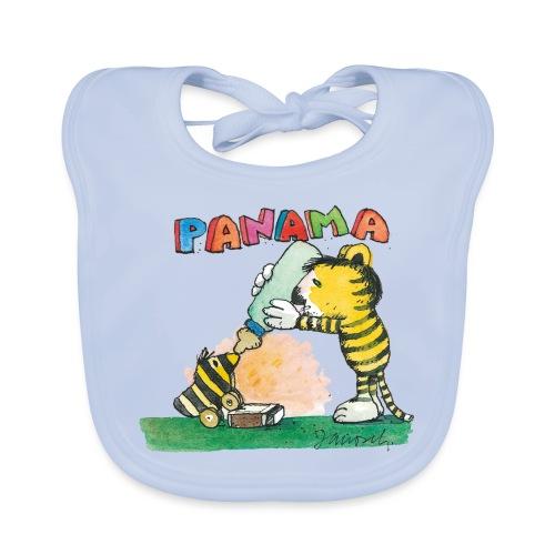 Janosch Tiger Füttert Tigerente Mit Flasche - Baby Bio-Lätzchen