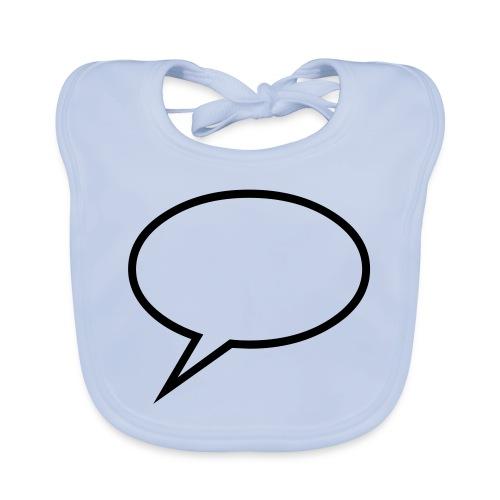 Cool text cloud design - Bio-slabbetje voor baby's
