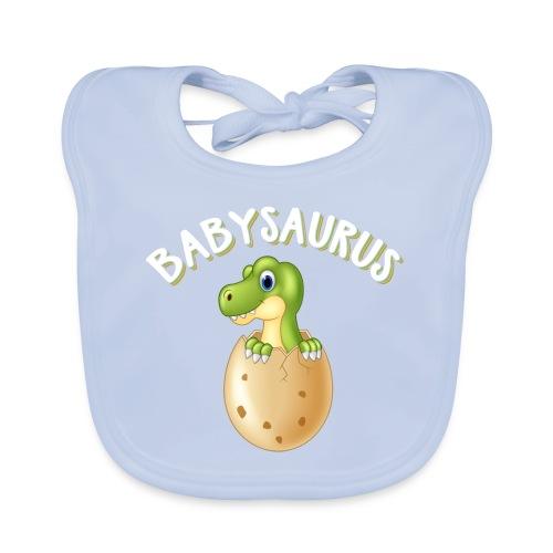 Babysaurus Vater und Kind Dinosaurier Partnerlook - Baby Bio-Lätzchen