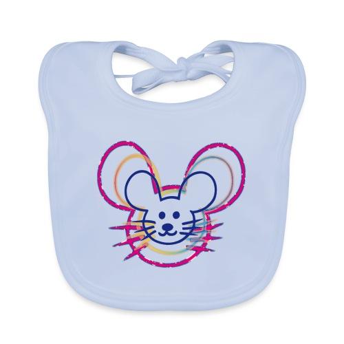 kleines Mausgesicht/Mäuse - Baby Bio-Lätzchen