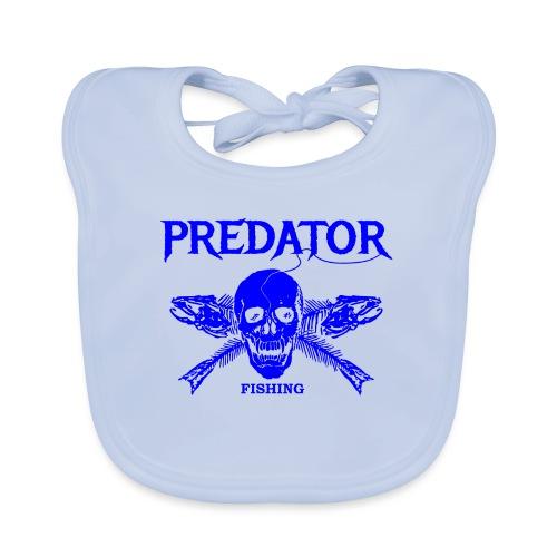 Predator fishing blue - Baby Bio-Lätzchen