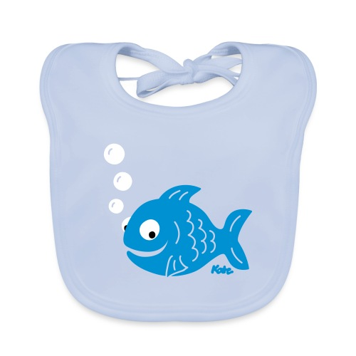 Fisch (c) - Baby Bio-Lätzchen
