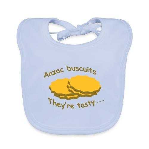 Anzac Biscuits - Baby Organic Bib