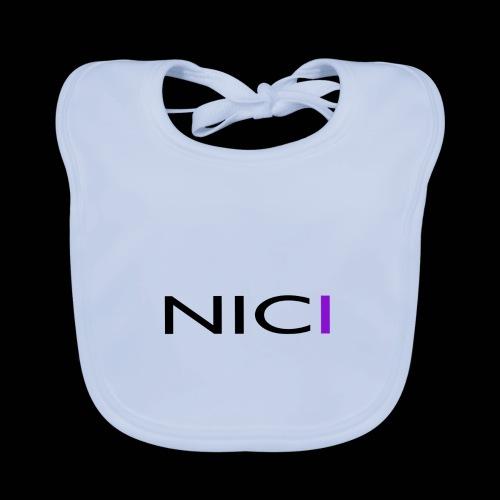 NICI logo Black - Vauvan ruokalappu