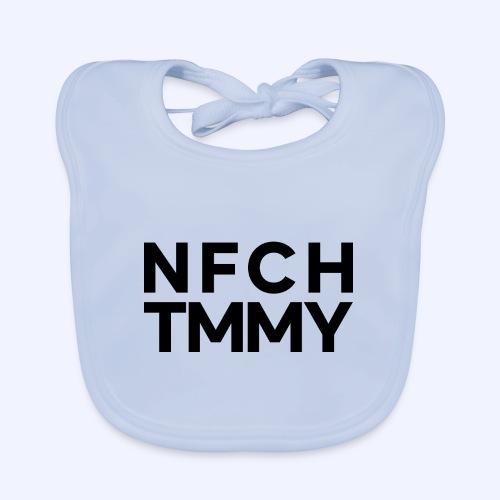 Einfach Tommy / NFCHTMMY / Black Font - Baby Bio-Lätzchen