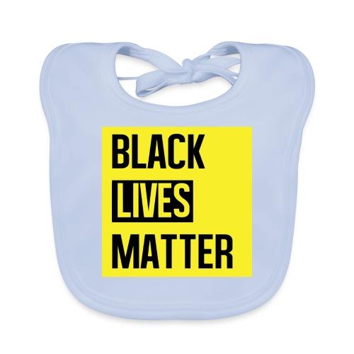 Black Lives Matter (yellow) - Bio-slabbetje voor baby's