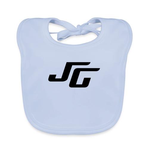 JG Logo schwarz - Baby Bio-Lätzchen