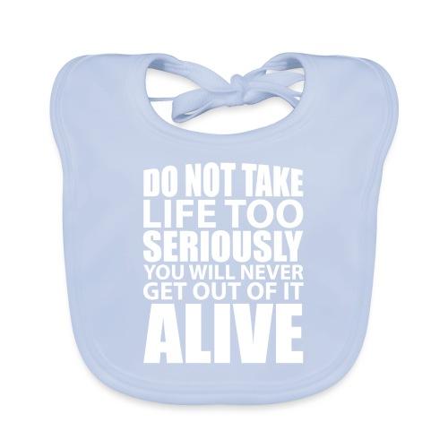 do not take life too seriously - Økologisk babysmekke