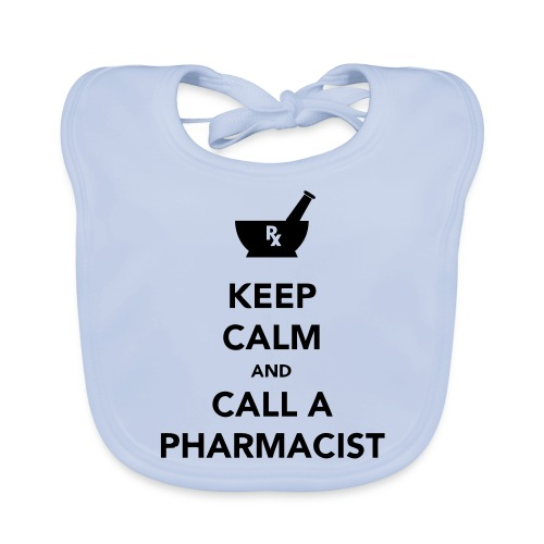 Keep Calm - Pharma - Organic Baby Bibs