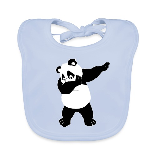 Dabbing Panda Bär - Baby Bio-Lätzchen