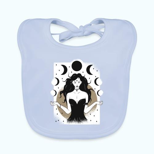 Vintage Lunar Goddess Limited Edition - Baby Organic Bib