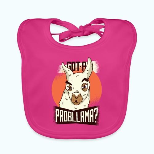 Funny Llama - Baby Organic Bib