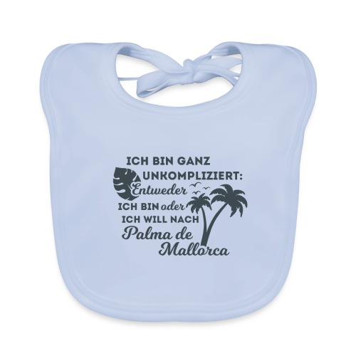 Palma de Mallorca - Geschenk - Geschenkidee - Baby Bio-Lätzchen